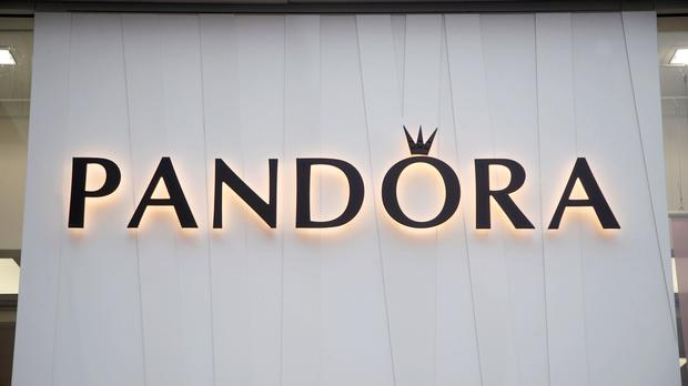 A branch of Pandora on Oxford Street, central London.