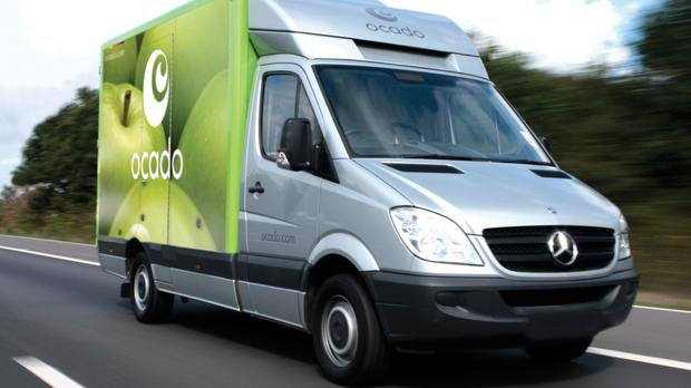 Ocado was forced to cancel some customer orders after a fire at its Erith centre (Ocado/PA)