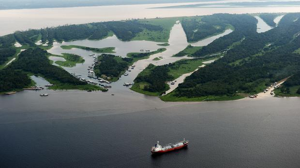 A general view of the Amazon near Manaus, Brazil (Adam Davy/PA)