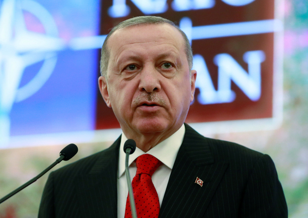'Mr Erdogan told Mr Putin the attacks violated a ceasefire in Idlib and damaged efforts for a solution in Syria.' Photo: Reuters
