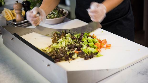 Chopped salad chain is set to launch in the UK (PA)
