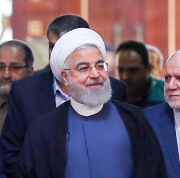 Meeting: President Trump says he will meet Iran leader Hassan Rouhani. Photo: Reuters