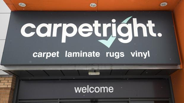 Carpetright revealed its biggest shareholder has bought up the company's debts (PA)