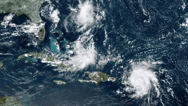 Dorian is expected to reach the US mainland as early as the weekend (NOAA via AP)