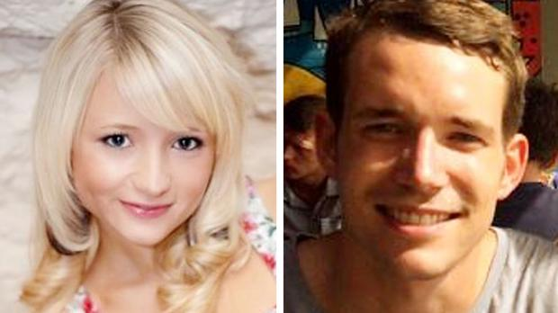 Hannah Witheridge and David Miller were found dead on a beach in Thailand in September 2014 (handouts/PA)