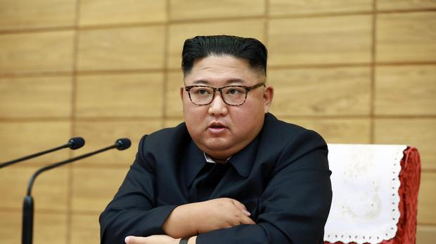 Kim Jong Un (Korean Central News Agency/Korea News Service via AP)