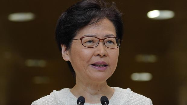 Hong Kong Chief Executive Carrie Lam (Vincent Yu/AP)