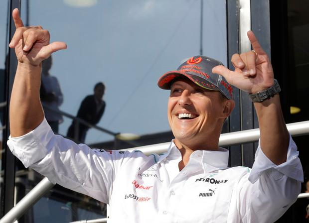 Michael Schumacher is reportedly 'conscious' in Paris hospital after receiving treatment