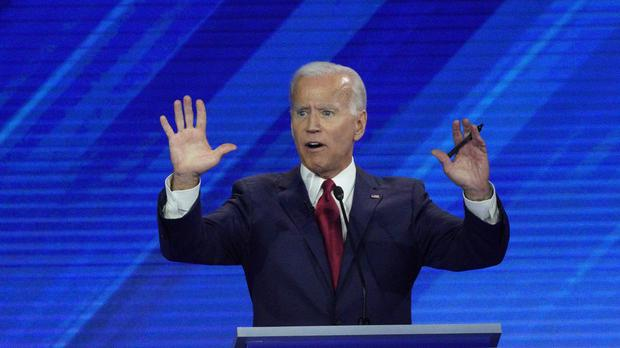 Democratic presidential candidate former Vice President Joe Biden (David J Phillip/AP)