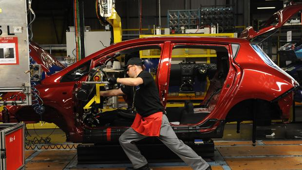 Manufacturing PMIs for September were slightly better than August, but are still in decline (Anna Gowthorpe/PA)