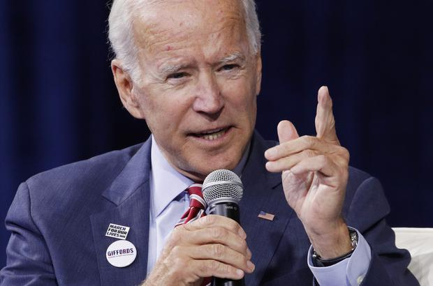 Mr Biden is one of the frontrunners for the Democratic presidential nomination (AP)