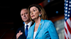National fight: Nancy Pelosi. Photo: Bloomberg