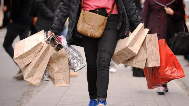 A fall in consumer confidence could see shoppers cut their festive budgets in the critical run-up to Christmas, PwC has warned (Dominic Lipinski/PA)