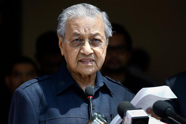 Malaysian Prime Minister Mahathir Mohamad. Photo: Andy Wong/AP