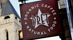 Pret a Manger is under private equity ownership, having been purchased by Krispy Kreme owner JAB Holdings for £1.5bn in May 2018