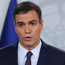 Firm: Caretaker Prime Minister Pedro Sánchez met with other leaders. Photo: Reuters