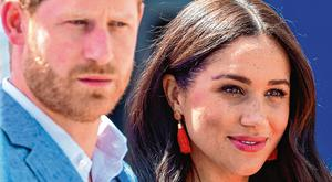 Opening up: Harry and Meghan have spoken of their troubles – to a mixed reception. Photo: PA