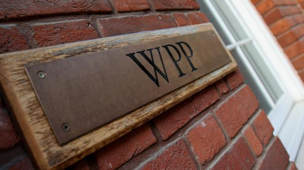 WPP has posted quarterly growth for the first time in a year (PA)