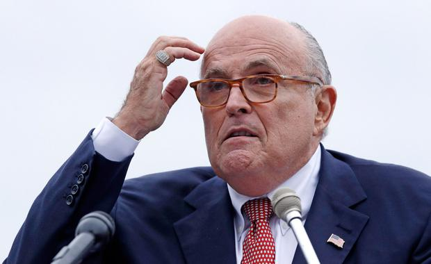 Obstacle: The panel will hear claims that Rudy Giuliani was a key voice with the president on Ukraine which could be an obstacle to increased White House. Photo: AP