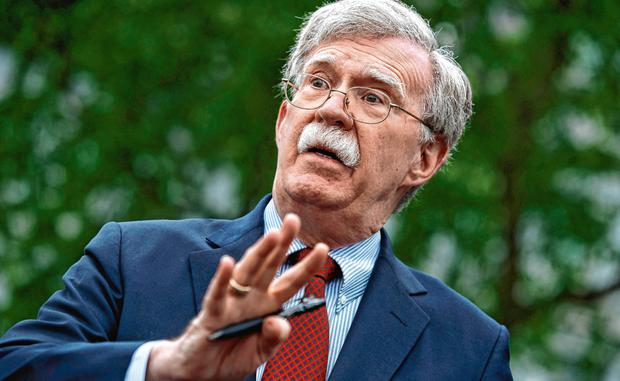 Former US national security adviser John Bolton. Photo: AP