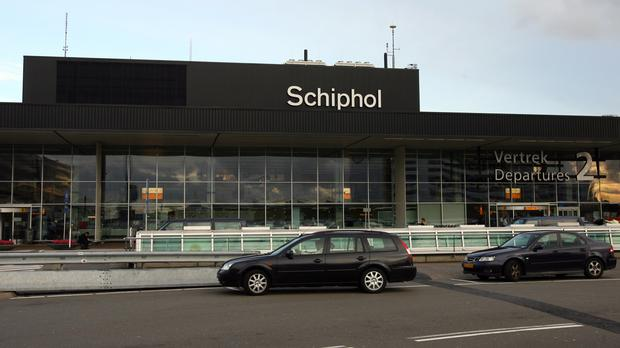 Dutch military police have tweeted that they are investigating a suspicious situation on an aircraft at Amsterdam's Schiphol Airport.