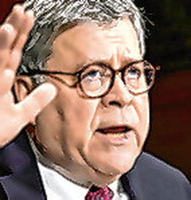 Credibility: US Attorney General William Barr is a Trump appointee