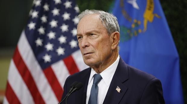 Former New York City mayor Michael Bloomberg (John Locher/PA)