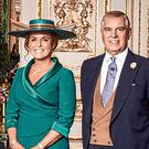 Prince Andrew with his ex-wife Sarah Ferguson