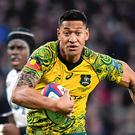 Sacked: Israel Folau was dropped by Rugby Australia