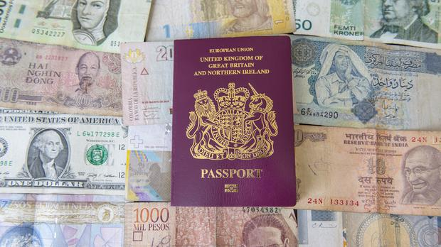 Passport and banknote firm De La Rue has seen another fifth wiped off its stock market value after the firm warned there was a risk it could collapse if recovery efforts fail. (PA)