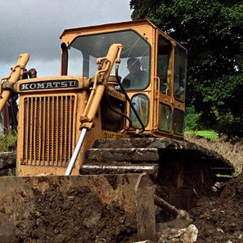 The three-year-old Chinese child was killed by a bulldozer