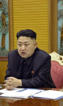 North Korean leader Kin Jong-Un