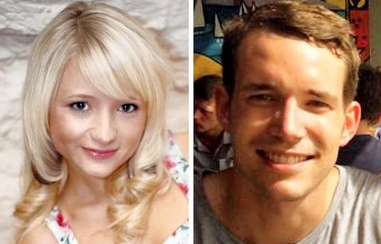 Hannah Witheridge and David Miller who were murdered in Thailand.