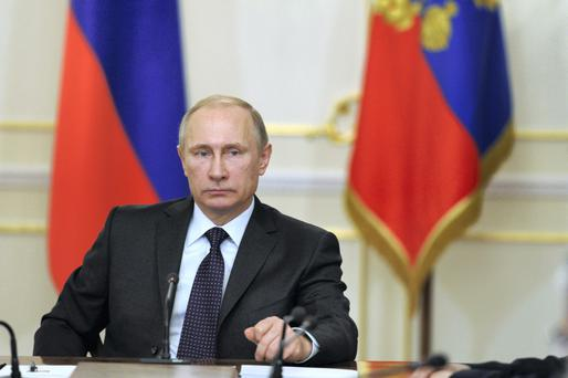 Russian President Vladimir Putin is expected to give his response today