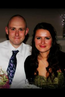 Emmet Gallagher and wife Sylwia who were on a delayed honeymoon in Nepal
