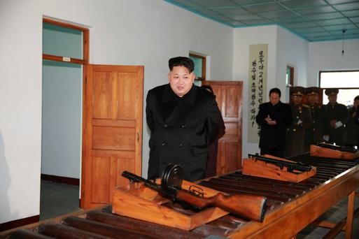 Kim Jong Un visits the Phyongchon Revolutionary Site