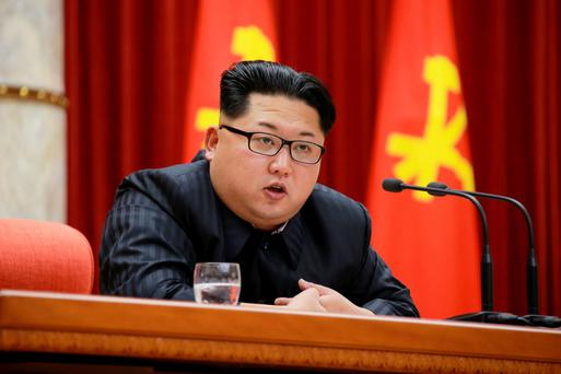 Kim Jong-un put up a strong fight to gain power in North Korea, according to a top South Korean spy Photo: Reuters