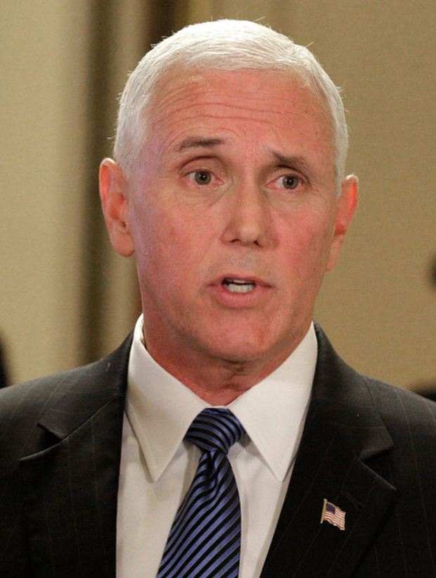 US Vice-President Mike Pence. Photo: Reuters