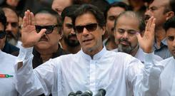 Pakistan's cricketer-turned-politician Imran Khan. Photo: Getty Images
