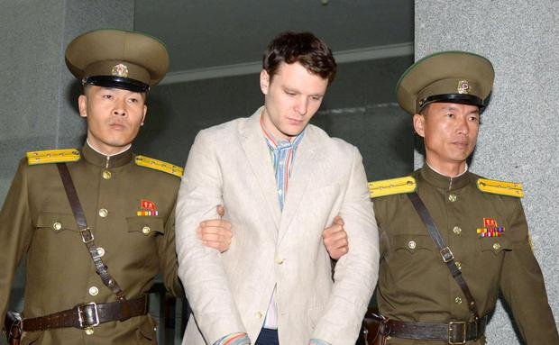 Injuries: Otto Warmbier (22) died shortly after he was flown home in a coma after being held by North Korea for 17 months. Photo: Reuters