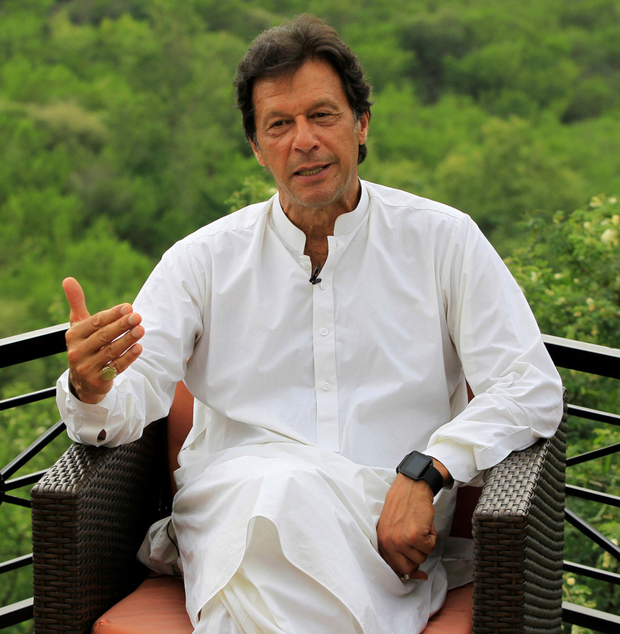 Imran Khan: Pakistan's prime minister has appealed for calm