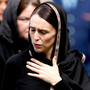 Mourning: New Zealand Prime Minister Jacinda Ardern. Photo: Reuters