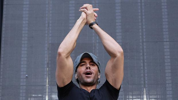 Enrique Iglesias was injured during a concert in Tijuana, Mexico