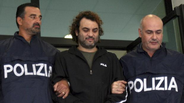 Antonio Pelle escaped from hospital in 2011 (AP)