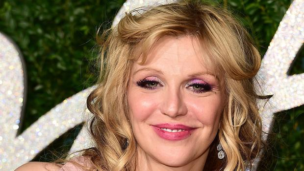 Courtney Love was caught up in the protests in Paris