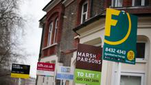 The majority of private landlords say they have been affected by the impact of coronavirus on their tenants, according to a survey (Yui Mok/PA)