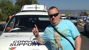 Alan Henning, currently held hostage by Islamic State