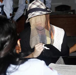 Australian Schapelle Corby, convicted of smuggling marijuana into Indonesia, receives her parole in Bali (AP)