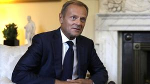 Donald Tusk mentioned the Trump administration as part of an external 'threat' together with China, Russia, radical Islam, war and terror