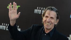Leonard Nimoy, pictured in 2013, has died aged 83 (AP)
